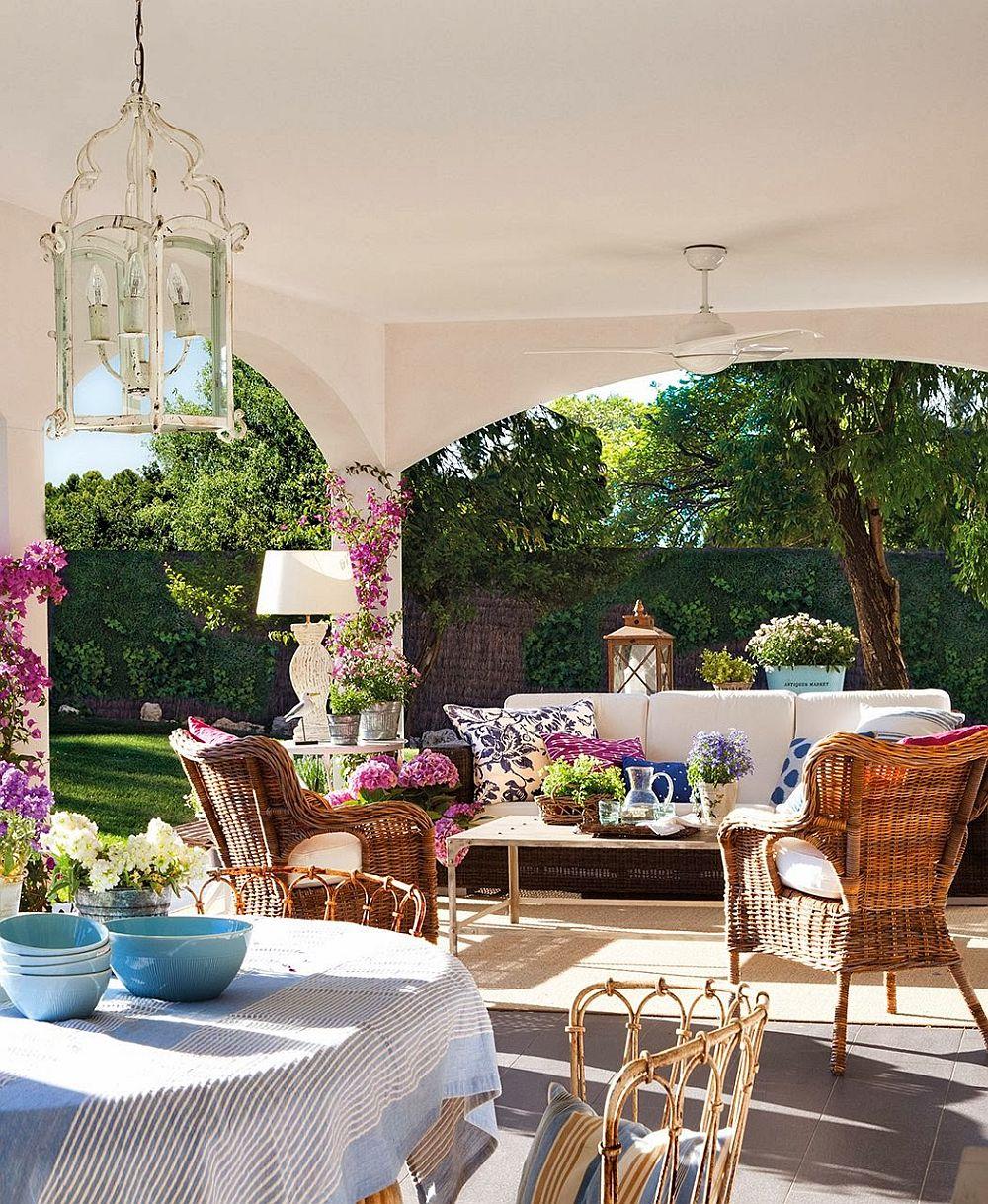 adelaparvu.com despre casa extinsa cu garaj si veranda, casa Spania, decorator Isabel Flores, Foto ElMueble (7)
