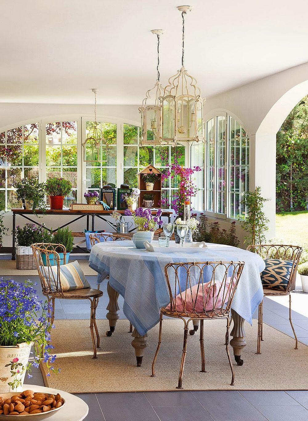 adelaparvu.com despre casa extinsa cu garaj si veranda, casa Spania, decorator Isabel Flores, Foto ElMueble (8)