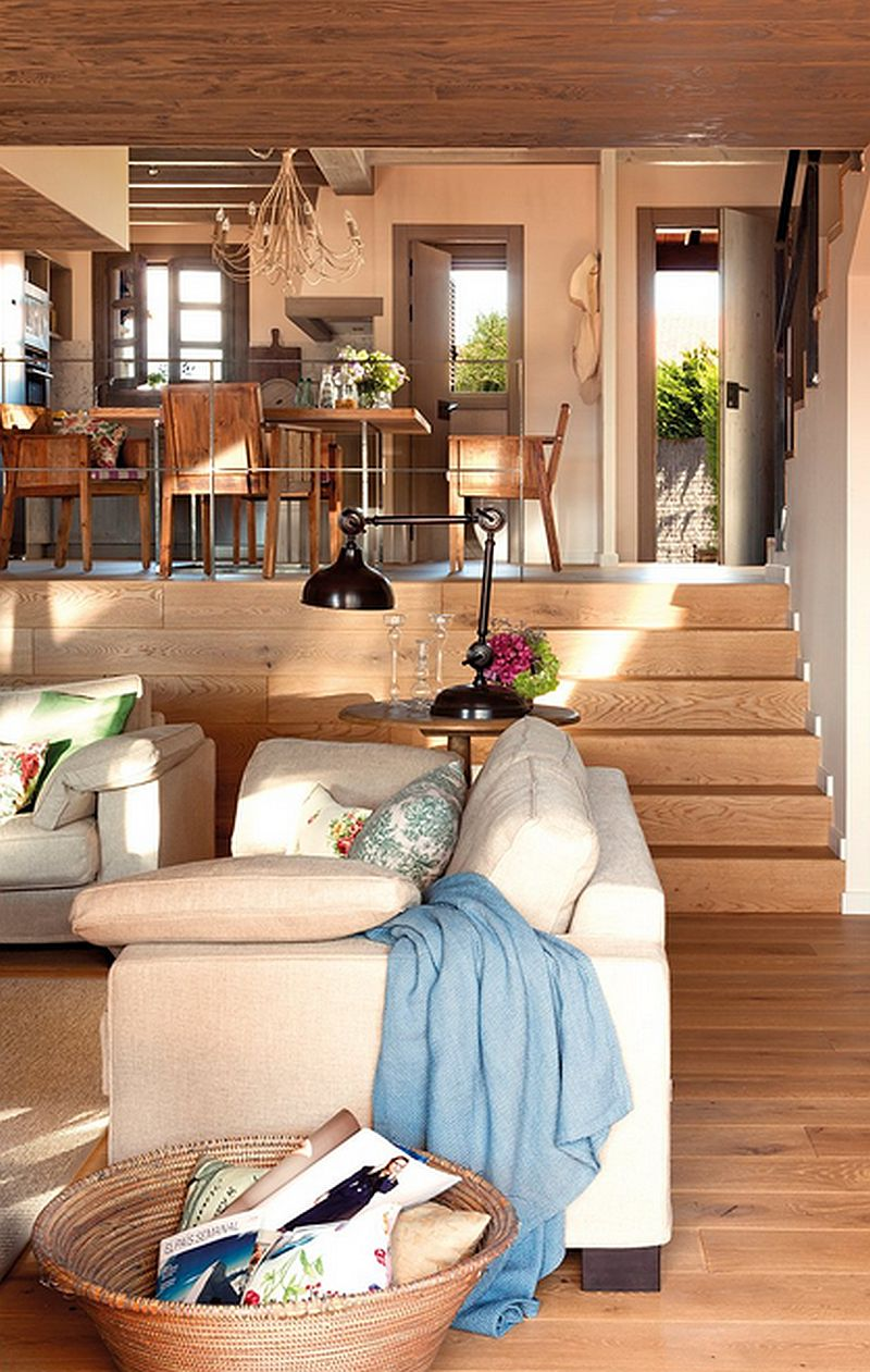 adelaparvu.com despre casa mica pe teren in panta, design interior Marina & Co, Foto ElMueble (5)