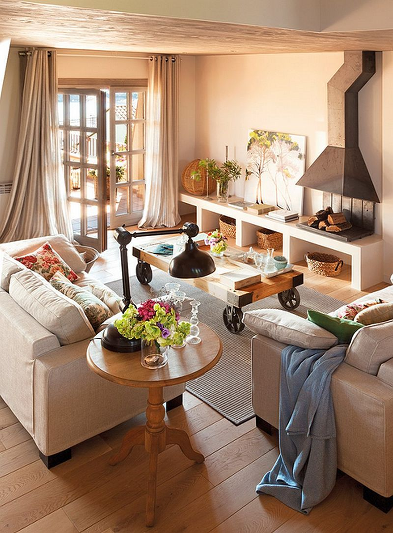 adelaparvu.com despre casa mica pe teren in panta, design interior Marina & Co, Foto ElMueble (6)