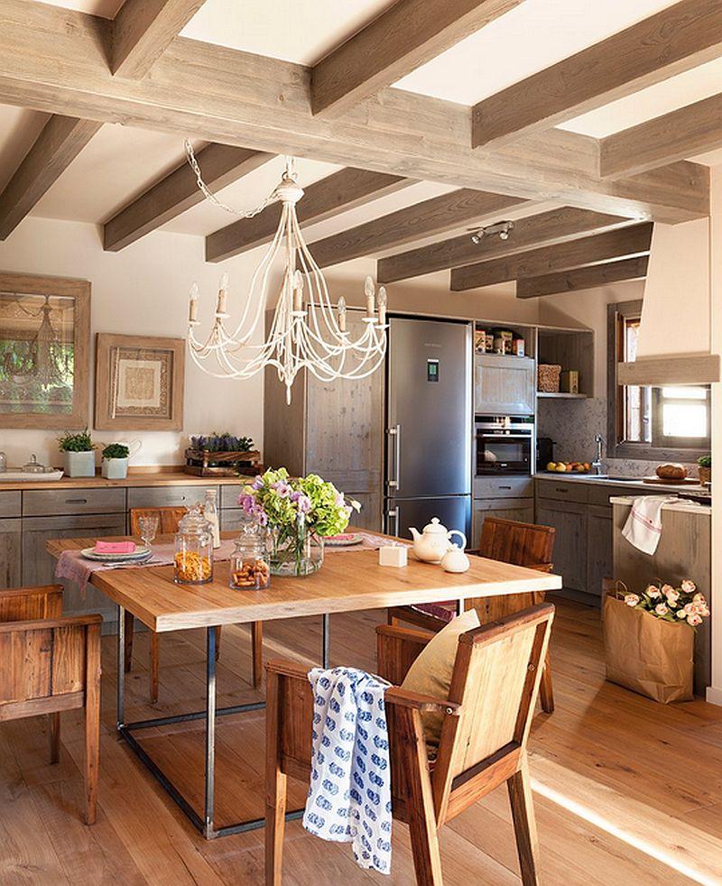 adelaparvu.com despre casa mica pe teren in panta, design interior Marina & Co, Foto ElMueble (7)