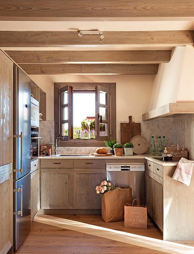 adelaparvu.com despre casa mica pe teren in panta, design interior Marina & Co, Foto ElMueble (8)