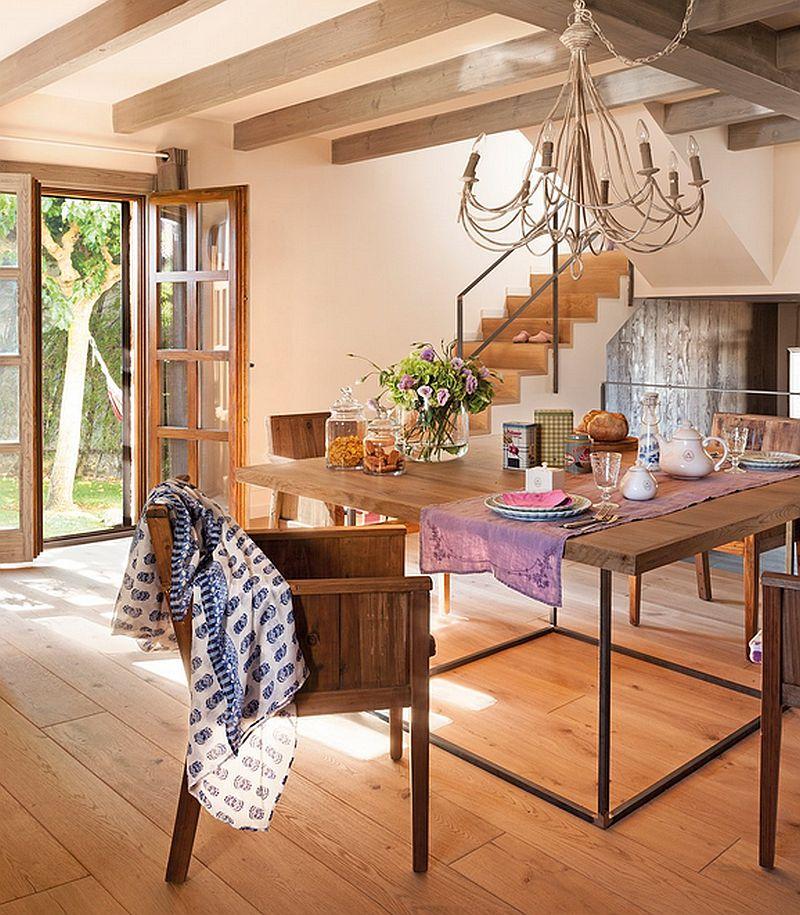 adelaparvu.com despre casa mica pe teren in panta, design interior Marina & Co, Foto ElMueble (9)
