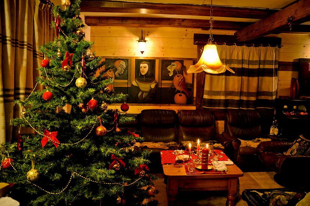 adelaparvu.com despre casa rustica cu gradina langa Piatra Neamt, peisaj de iarna, Foto Romulus Boicu  (9)