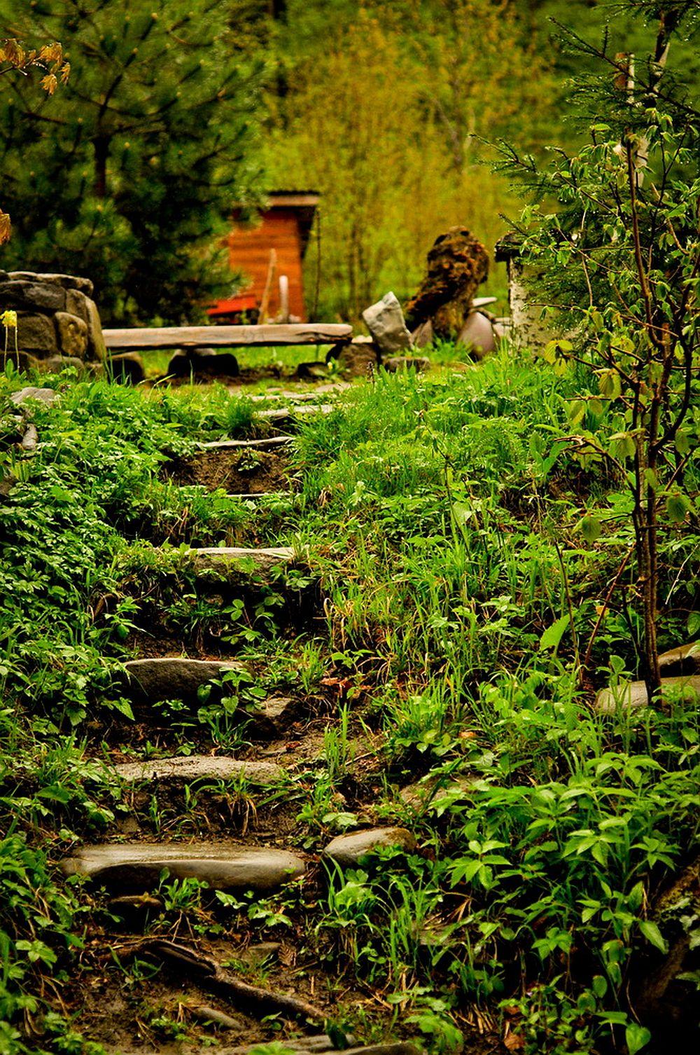 adelaparvu.com despre casa rustica cu gradina langa Piatra Neamt, peisaj de vara, Foto Romulus Boicu  (35)