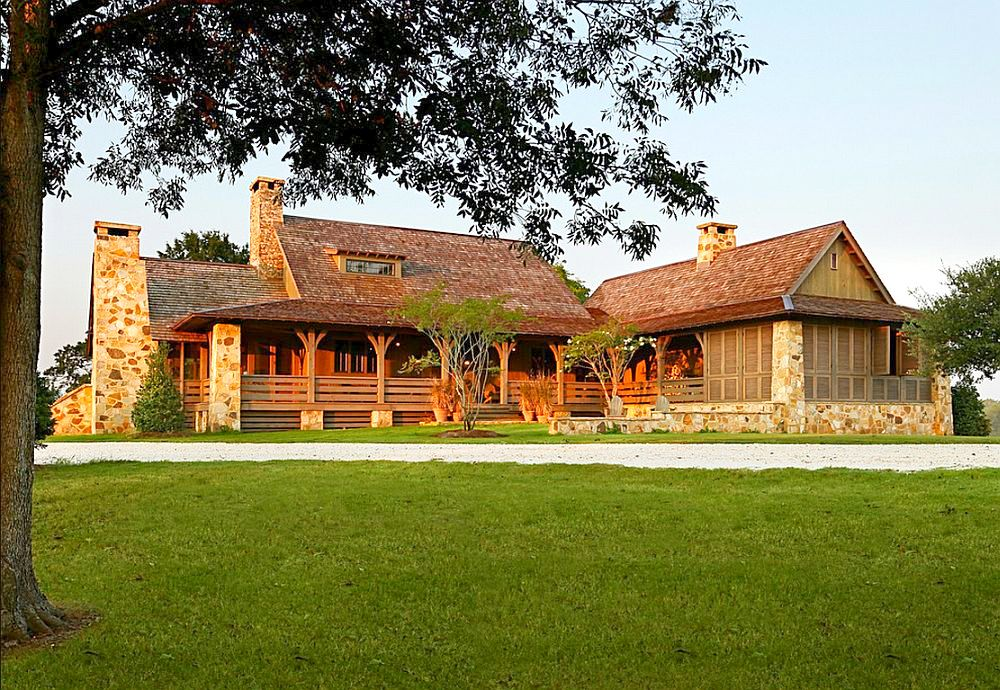 adelaparvu.com despre casa rustica cu veranda Alabama, casa rustica SUA, Marsh Residence, arhitecti Dungan Nequette Architecs (1)