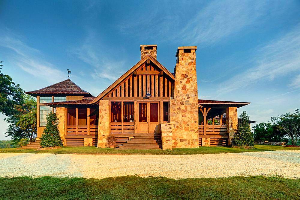 adelaparvu.com despre casa rustica cu veranda Alabama, casa rustica SUA, Marsh Residence, arhitecti Dungan Nequette Architecs (3)