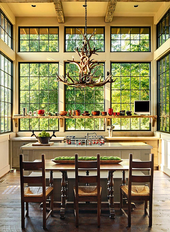 adelaparvu.com despre casa rustica cu veranda Alabama, casa rustica SUA, Marsh Residence, arhitecti Dungan Nequette Architecs (5)