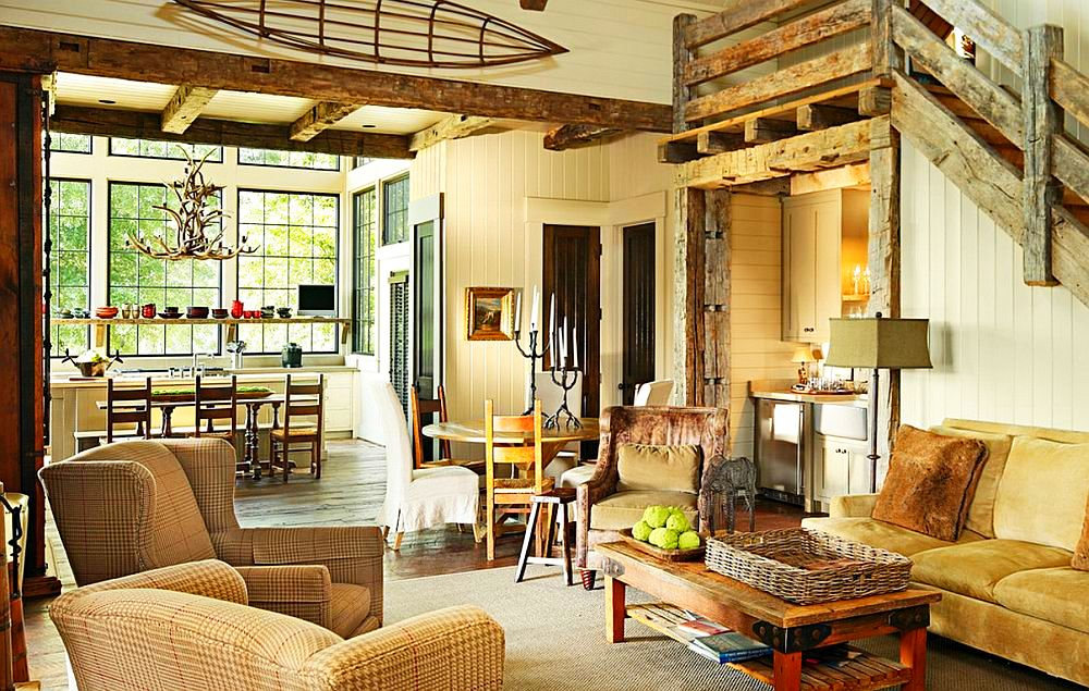adelaparvu.com despre casa rustica cu veranda Alabama, casa rustica SUA, Marsh Residence, arhitecti Dungan Nequette Architecs (7)