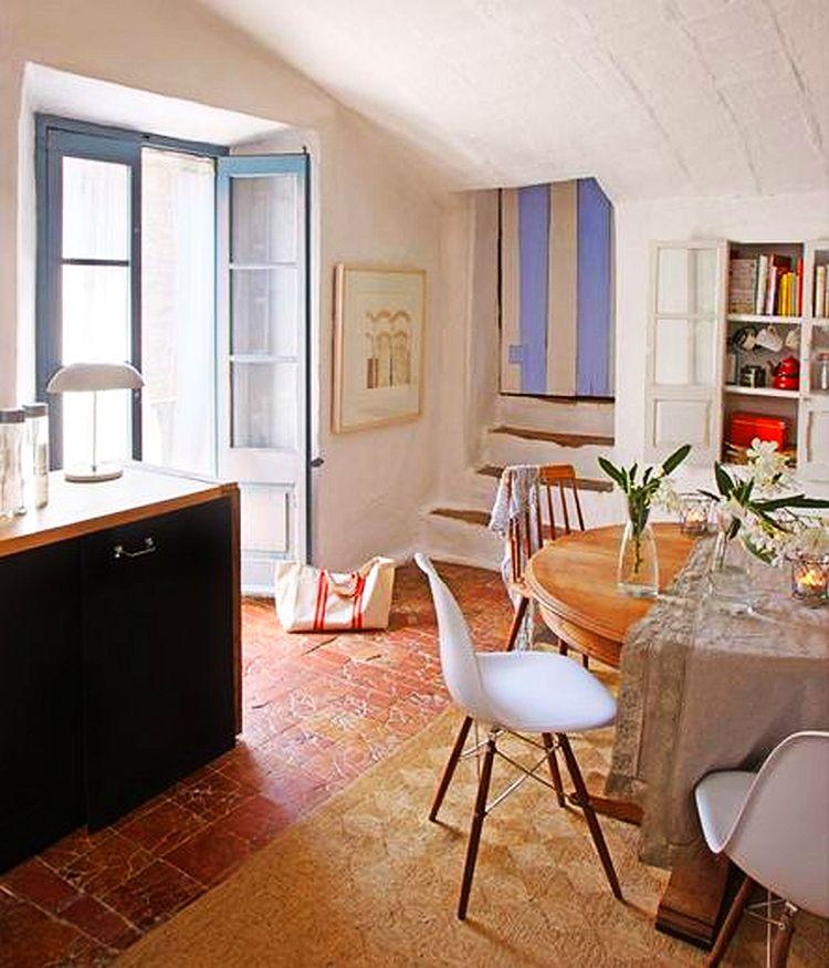 adelaparvu.com despre casa veche de tara modernizata, casa Spania, proiect Ca La Bonica, arhitecti Lizarriturry Tuneu Arquitectura  (17)