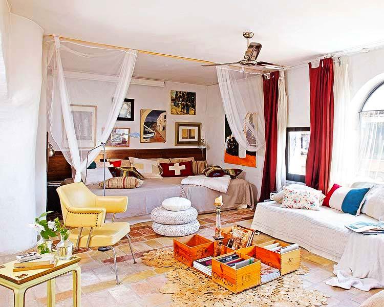 adelaparvu.com despre casa veche de tara modernizata, casa Spania, proiect Ca La Bonica, arhitecti Lizarriturry Tuneu Arquitectura