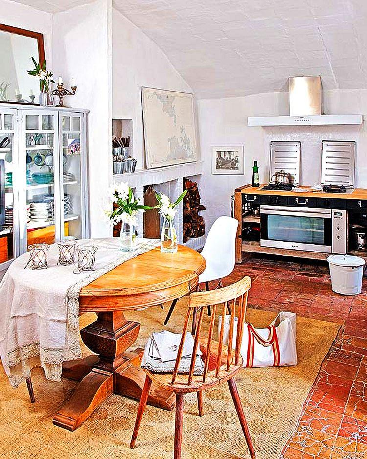 adelaparvu.com despre casa veche de tara modernizata, casa Spania, proiect Ca La Bonica, arhitecti Lizarriturry Tuneu Arquitectura  (24)