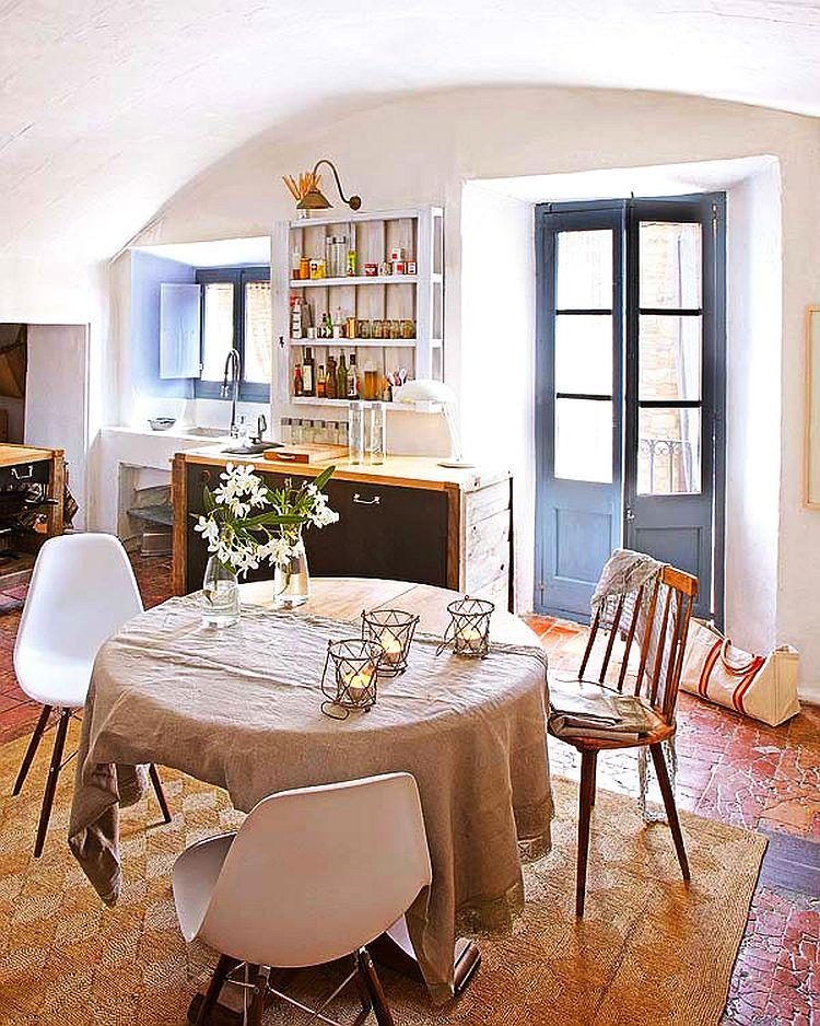 adelaparvu.com despre casa veche de tara modernizata, casa Spania, proiect Ca La Bonica, arhitecti Lizarriturry Tuneu Arquitectura  (25)
