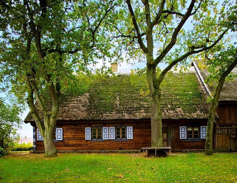 adelaparvu.com despre casa veche taraneasca cu acoperis din stuf trasformata in casa eco, arhitect Magda Adamus, Foto Rafal Lipski (1)