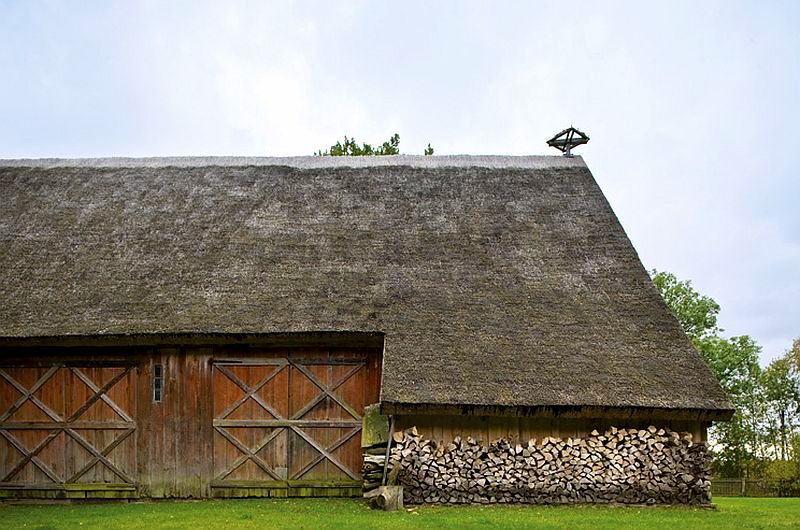 adelaparvu.com despre casa veche taraneasca cu acoperis din stuf trasformata in casa eco, arhitect Magda Adamus, Foto Rafal Lipski (15)