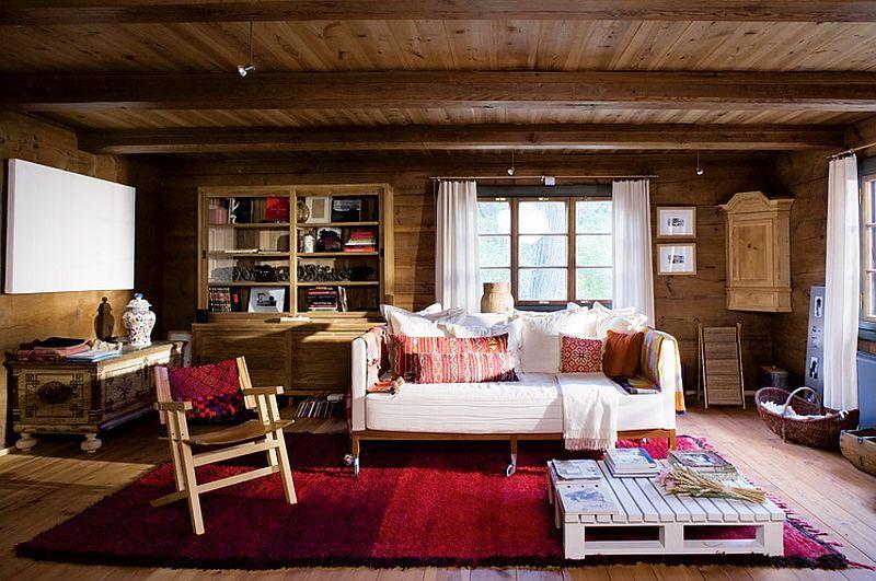 adelaparvu.com despre casa veche taraneasca cu acoperis din stuf trasformata in casa eco, arhitect Magda Adamus, Foto Rafal Lipski (2)