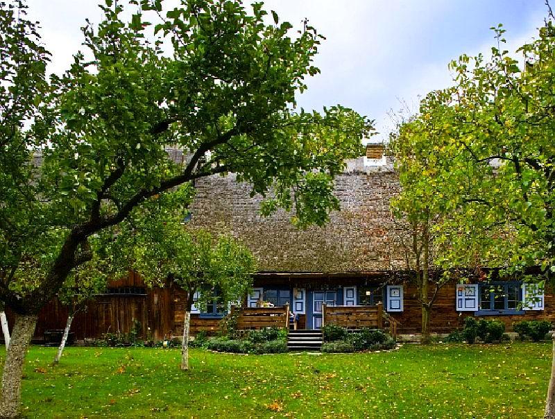 adelaparvu.com despre casa veche taraneasca cu acoperis din stuf trasformata in casa eco, arhitect Magda Adamus, Foto Rafal Lipski (3)