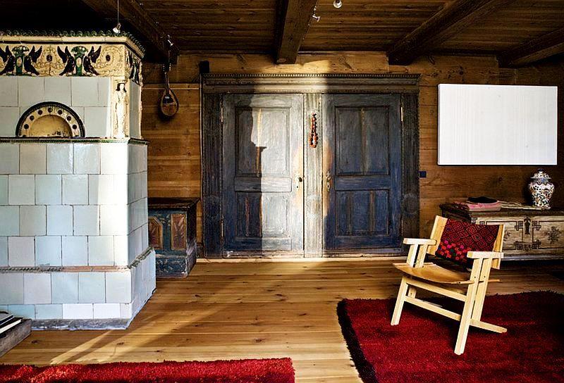 adelaparvu.com despre casa veche taraneasca cu acoperis din stuf trasformata in casa eco, arhitect Magda Adamus, Foto Rafal Lipski (6)
