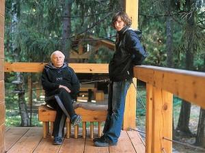 Arhitectul Timofey Dolgoy si nepotul sau Nikita