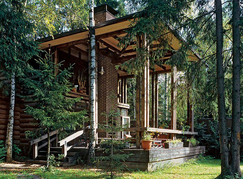 adelaparvu.com despre casele din lemn ale arhitectilor, arhitect Victoria Polyanskaya  (1)
