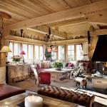 adelaparvu.com despre chalet Maldeghem in Klosters Elvetia, cabana de munte in stil rustic alpin (11)