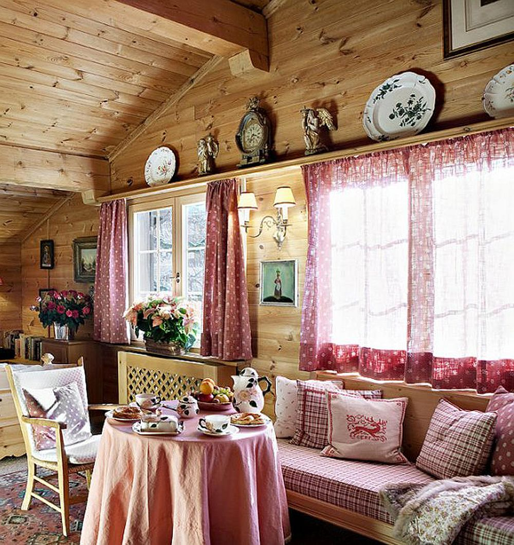 adelaparvu.com despre chalet Maldeghem in Klosters Elvetia, cabana de munte in stil rustic alpin (13)