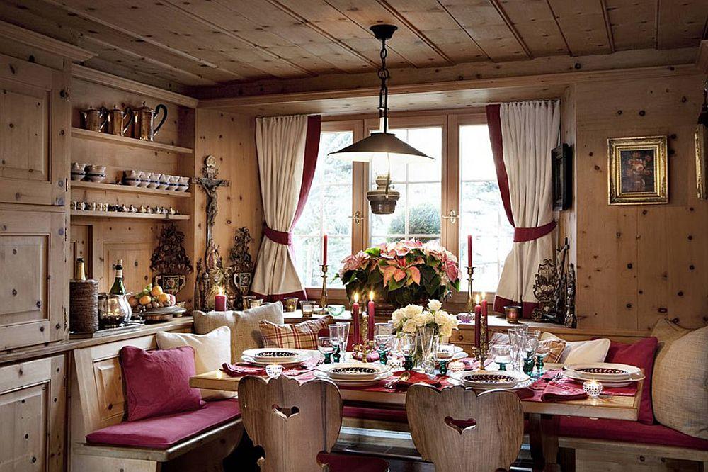 adelaparvu.com despre chalet Maldeghem in Klosters Elvetia, cabana de munte in stil rustic alpin (16)