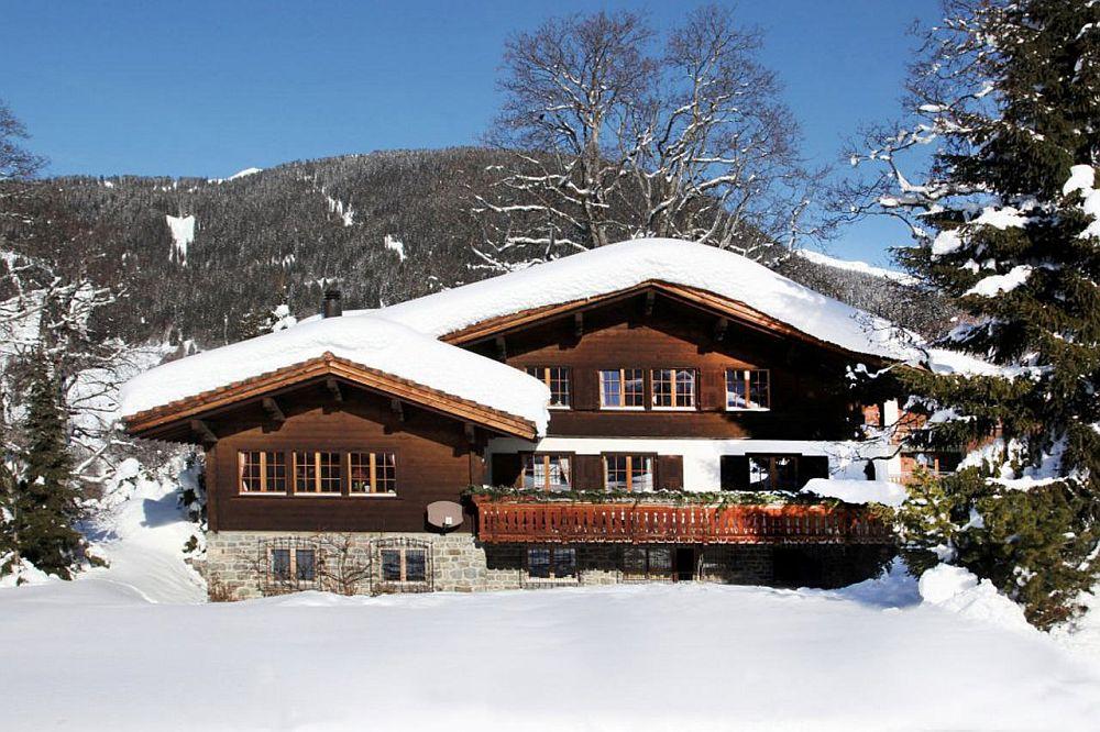 adelaparvu.com despre chalet Maldeghem in Klosters Elvetia, cabana de munte in stil rustic alpin (17)