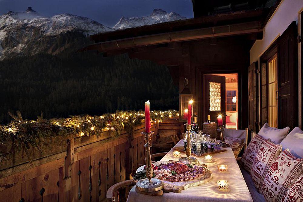 adelaparvu.com despre chalet Maldeghem in Klosters Elvetia, cabana de munte in stil rustic alpin (18)