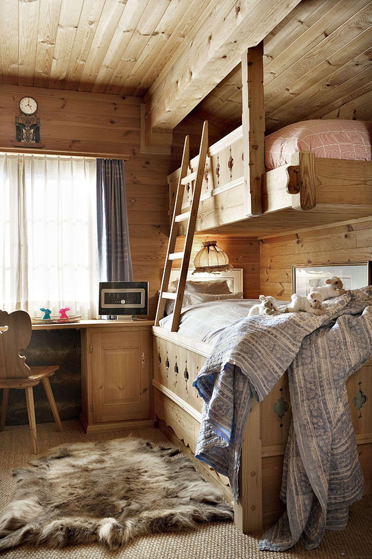 adelaparvu.com despre chalet Maldeghem in Klosters Elvetia, cabana de munte in stil rustic alpin (5)