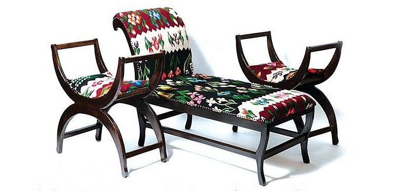 adelaparvu.com despre covoare traditionale si mobila traditionala romaneasca Iiana (3)