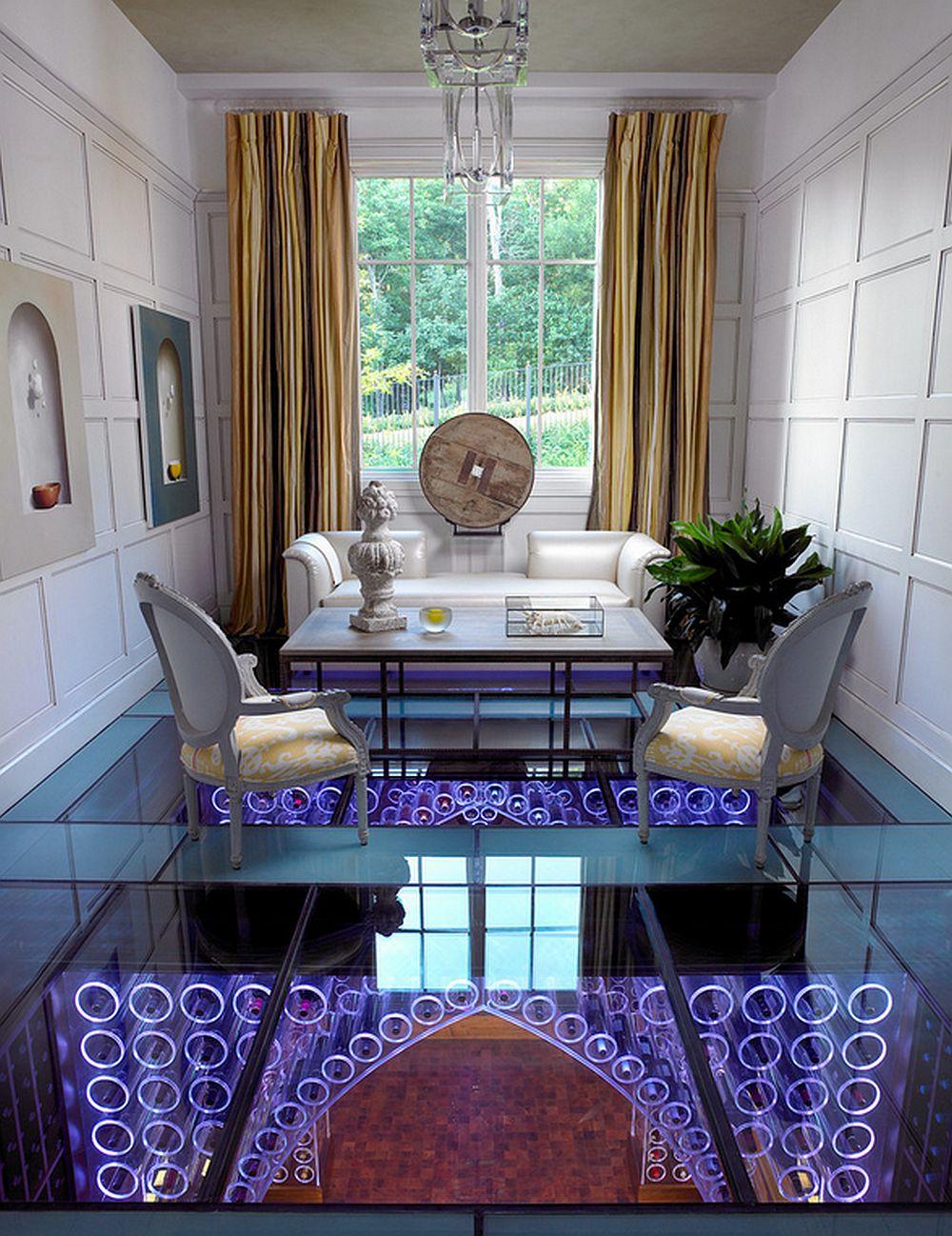 adelaparvu.com despre crama cu mobila transparenta si iluminat LED, design interior Beckwith Interiors Foto Kim Sargent (3)
