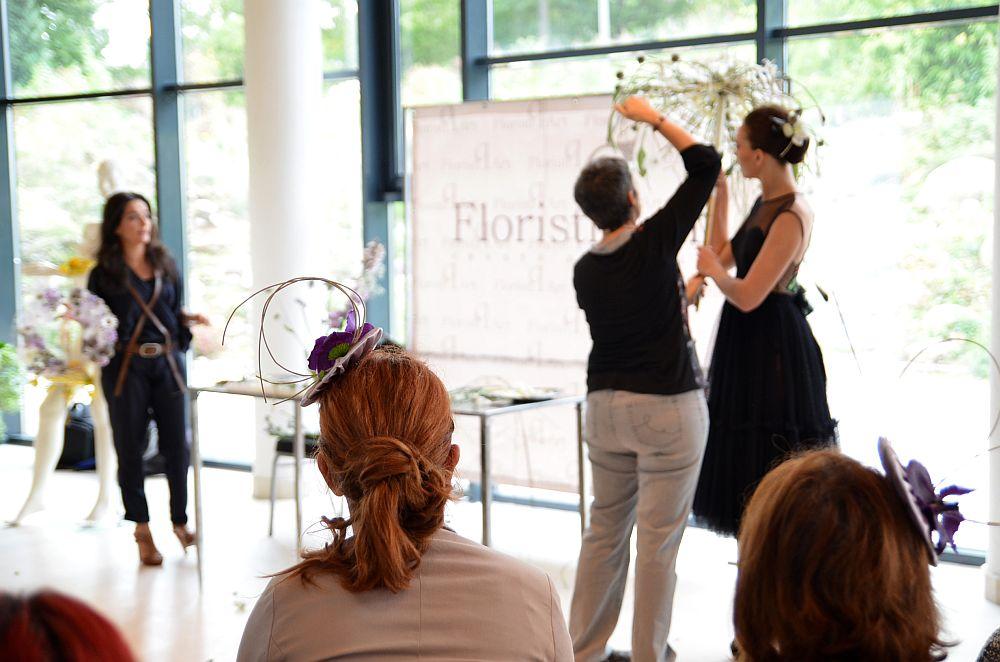 adelaparvu.com despre design floral, Fashion&Flowers show, designers Andreea Stor si Rosa Valls (10)