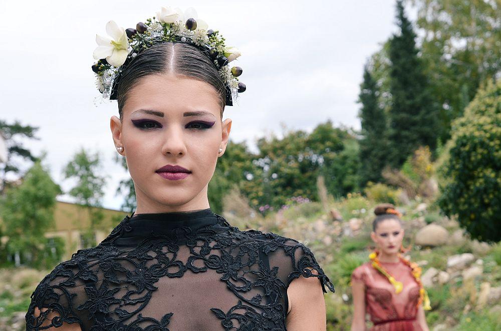 adelaparvu.com despre design floral, Fashion&Flowers show, designers Andreea Stor si Rosa Valls (11)