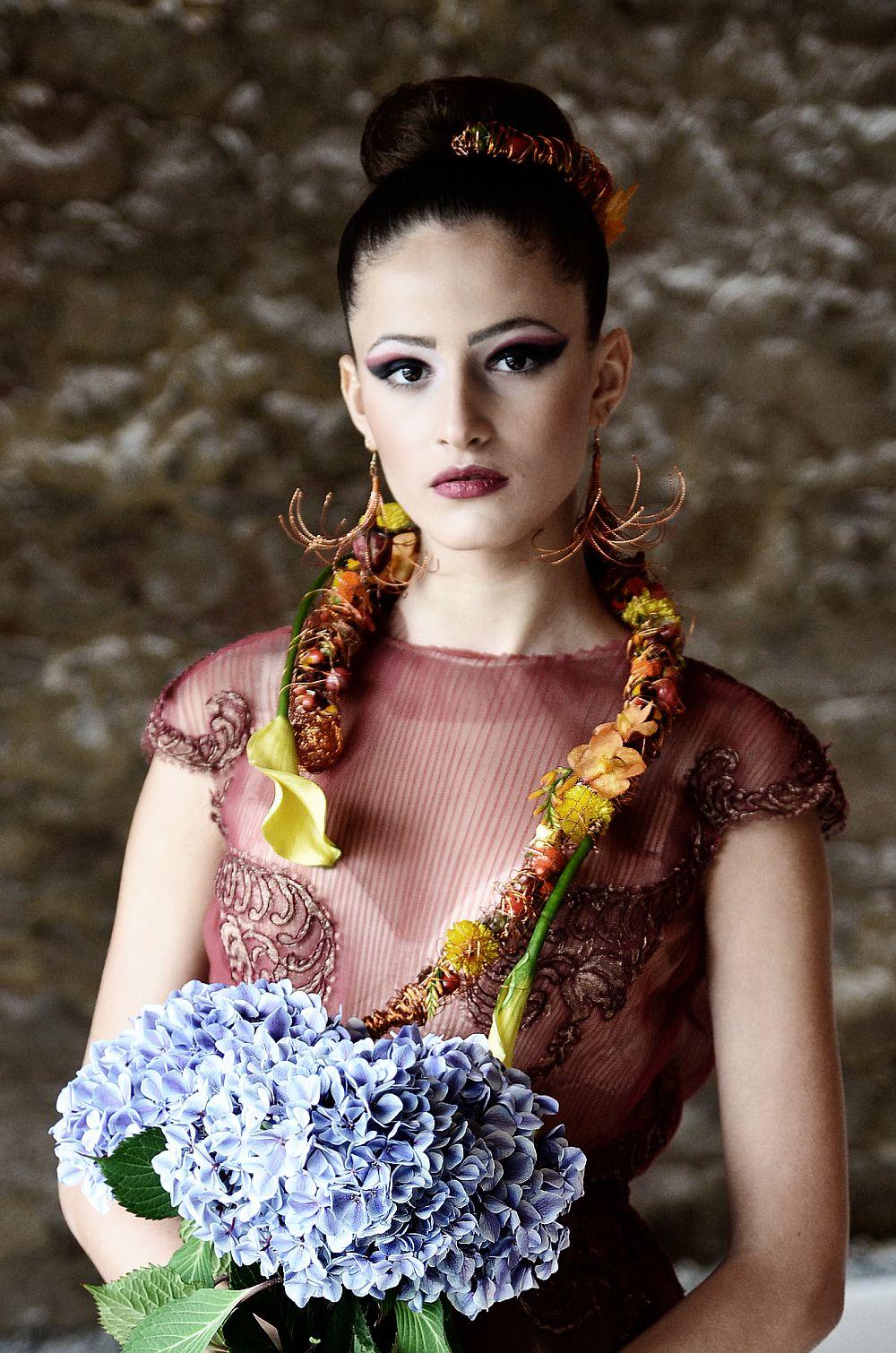 adelaparvu.com despre design floral, Fashion&Flowers show, designers Andreea Stor si Rosa Valls (12)