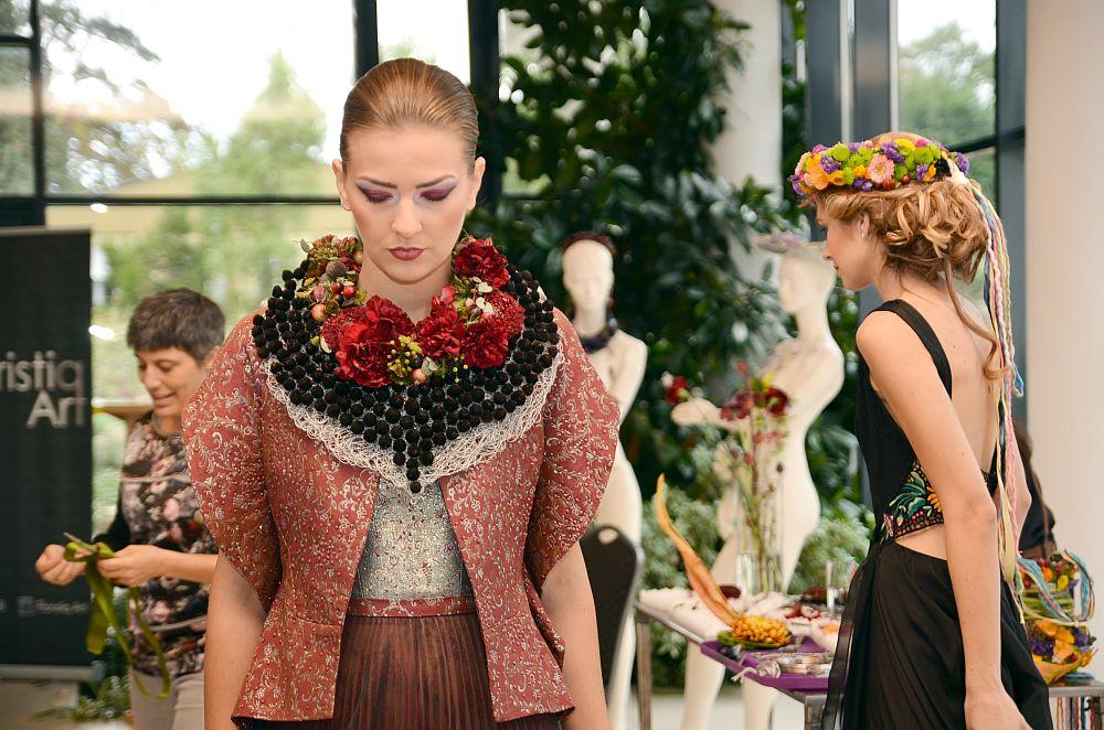 adelaparvu.com despre design floral, Fashion&Flowers show, designers Andreea Stor si Rosa Valls (13)