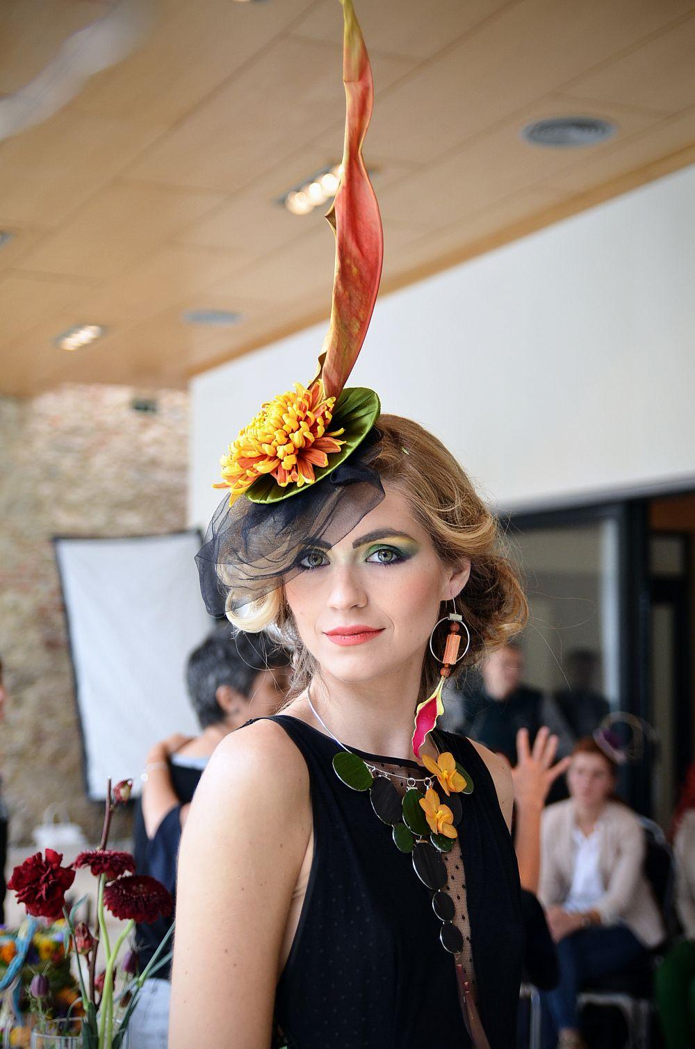 adelaparvu.com despre design floral, Fashion&Flowers show, designers Andreea Stor si Rosa Valls (14)