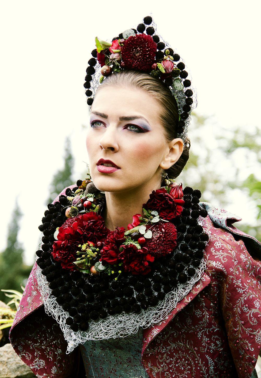 adelaparvu.com despre design floral, Fashion&Flowers show, designers Andreea Stor si Rosa Valls (15)