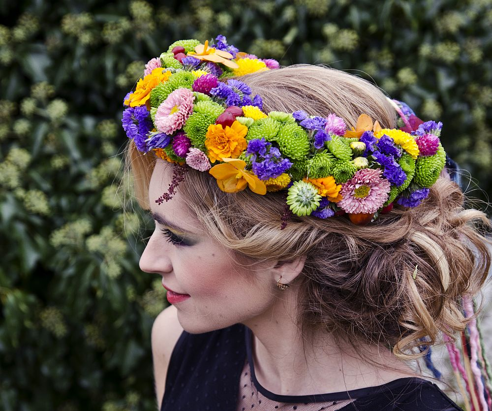 adelaparvu.com despre design floral, Fashion&Flowers show, designers Andreea Stor si Rosa Valls (16)