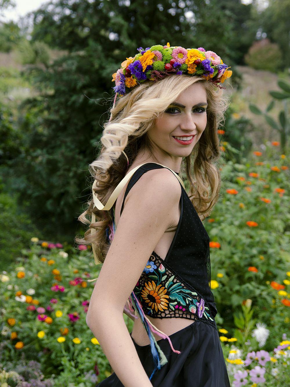 adelaparvu.com despre design floral, Fashion&Flowers show, designers Andreea Stor si Rosa Valls (17)