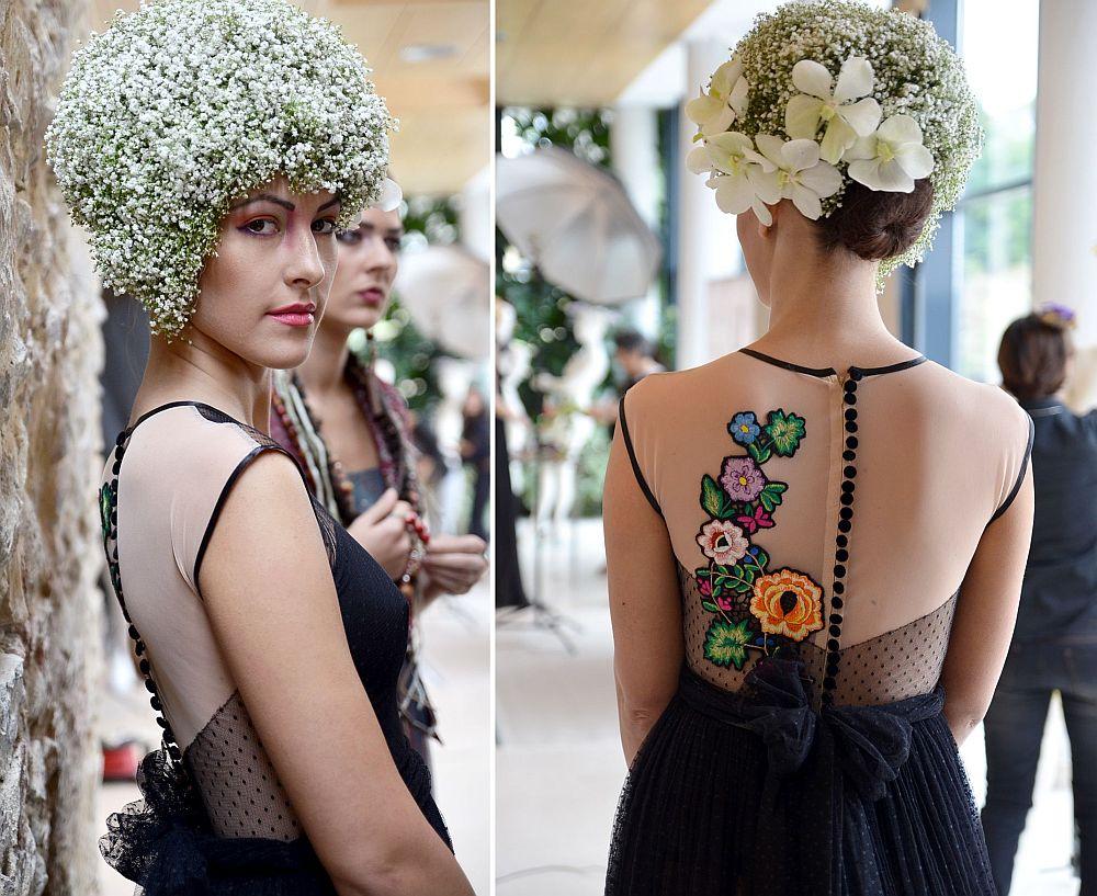 adelaparvu.com despre design floral, Fashion&Flowers show, designers Andreea Stor si Rosa Valls (2)