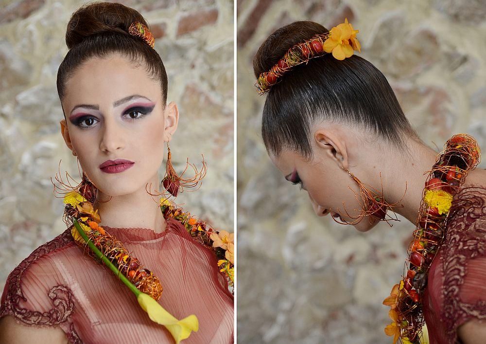 adelaparvu.com despre design floral, Fashion&Flowers show, designers Andreea Stor si Rosa Valls (20)
