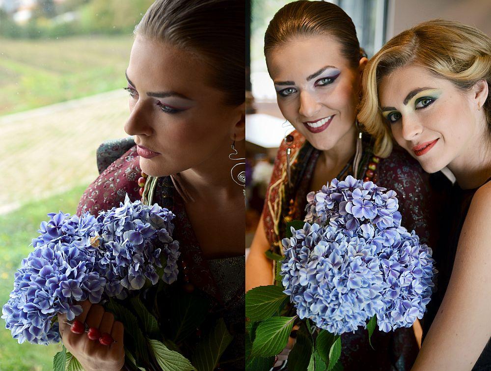 adelaparvu.com despre design floral, Fashion&Flowers show, designers Andreea Stor si Rosa Valls (3)