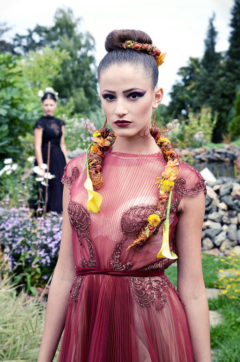 adelaparvu.com despre design floral, Fashion&Flowers show, designers Andreea Stor si Rosa Valls (4)