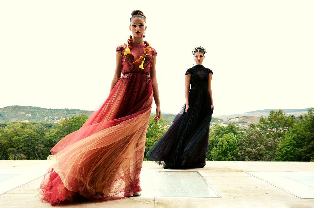 adelaparvu.com despre design floral, Fashion&Flowers show, designers Andreea Stor si Rosa Valls (5)