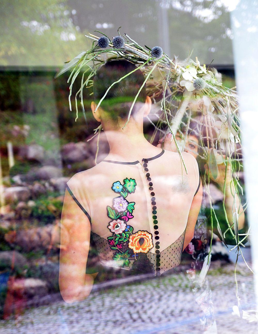 adelaparvu.com despre design floral, Fashion&Flowers show, designers Andreea Stor si Rosa Valls (7)