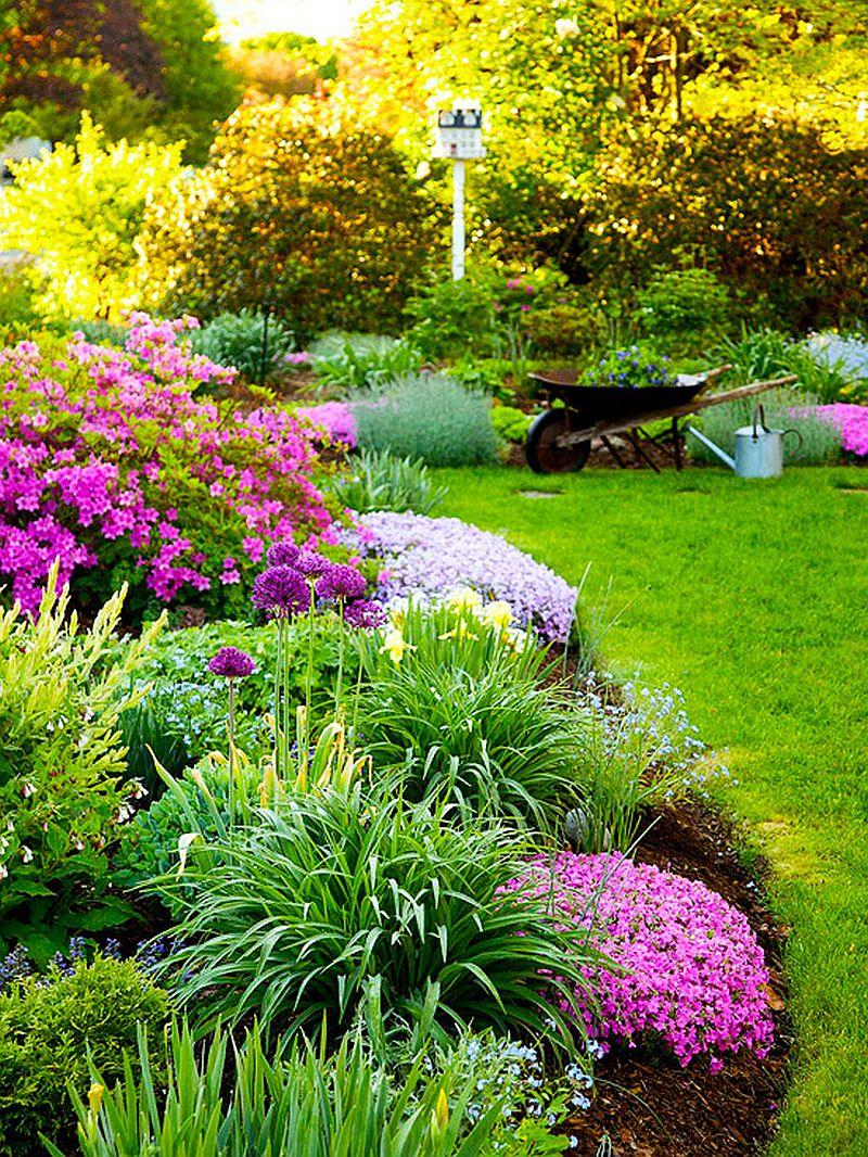 adelaparvu.com despre gradini mici cu flori, Foto BHG (5)