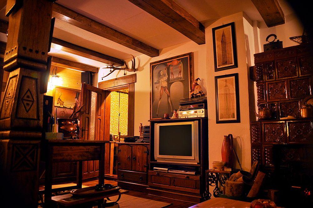 adelaparvu.com despre interior casa rustica cu gradina langa Piatra Neamt,  Foto Romulus Boicu (3)