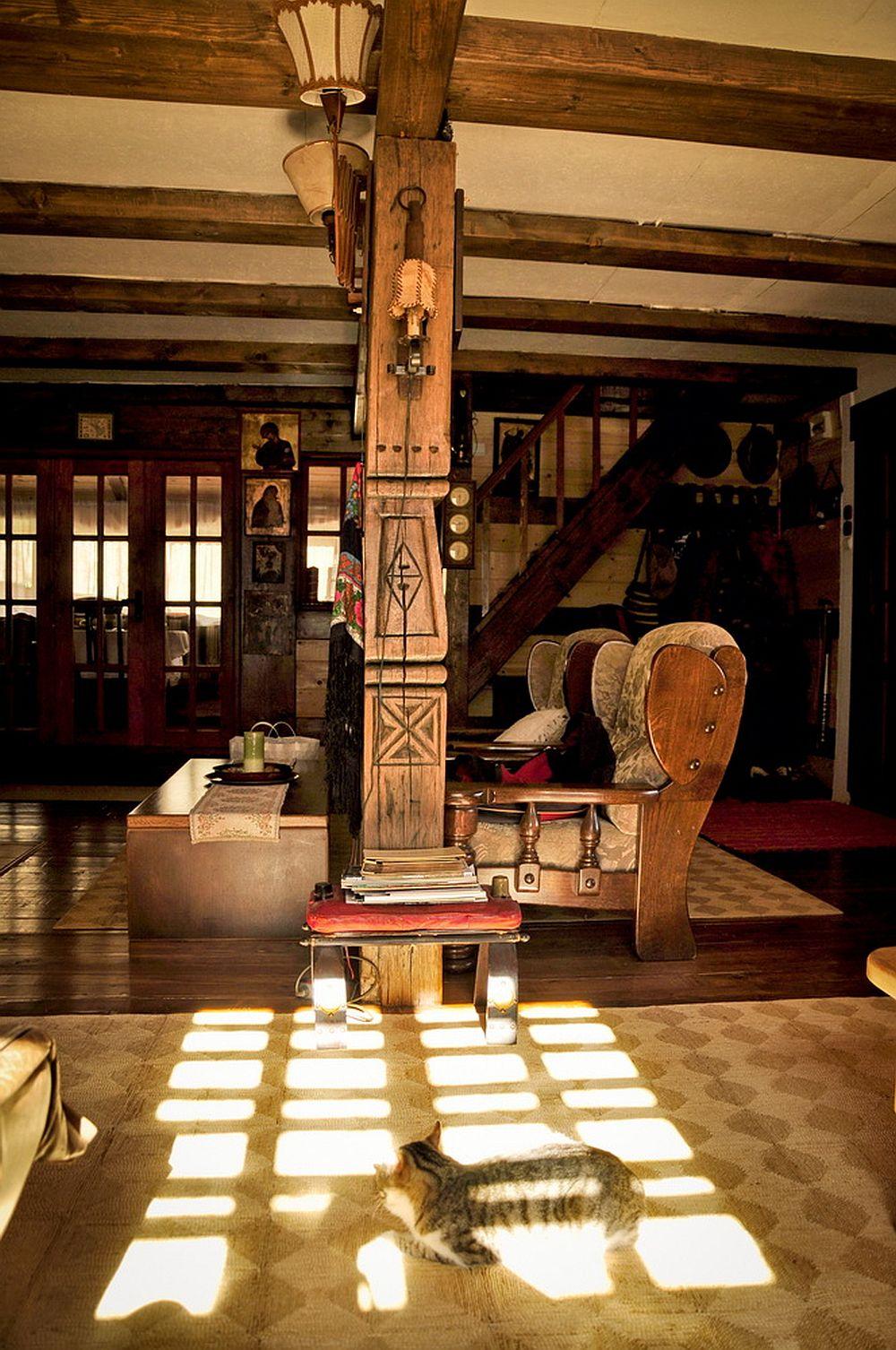 adelaparvu.com despre interior casa rustica cu gradina langa Piatra Neamt,  Foto Romulus Boicu (9)