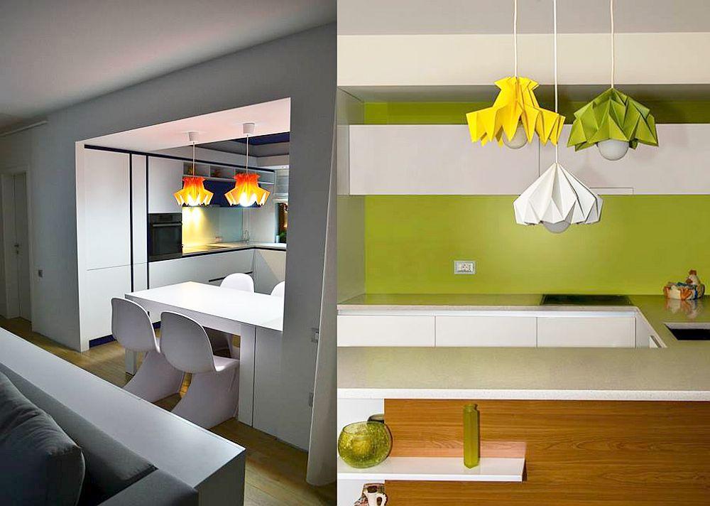 adelaparvu.com despre lampi origami, Happy Lamps, designeri Eliza Balana si Sergiu Tirziu (10)